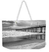 The Beach Pier Weekender Tote Bag