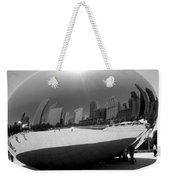 The Bean B-w Weekender Tote Bag