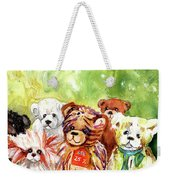 The Bears From The Yorkshire Moor 02 Weekender Tote Bag