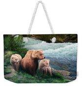 The Bears Of Katmai Weekender Tote Bag