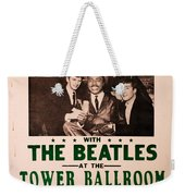 The Beatles And Little Richard Poster Collection 6 Weekender Tote Bag