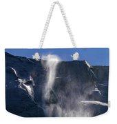 The Beautiful Bridalveil Falls Of Yosemite Weekender Tote Bag