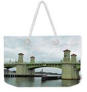 The Beautiful Bridge Of Lions Weekender Tote Bag