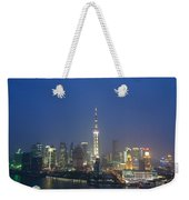 The Beautiful Bund, Shanghai, China Weekender Tote Bag