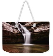 The Beautiful Cedar Falls Weekender Tote Bag