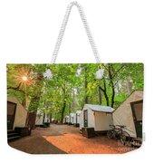 The Beautiful Half Dome Village Weekender Tote Bag