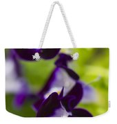 What's Wrong With Being A Pansy? Weekender Tote Bag