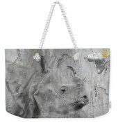 The Beautiful Rhino Weekender Tote Bag