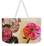 The Beauty Of A Dried Rose Weekender Tote Bag