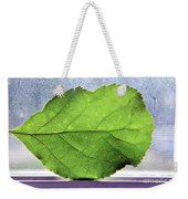 The Beauty Of A Leaf Weekender Tote Bag