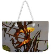 The Beauty Of Goldfish Weekender Tote Bag