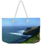 The Beauty Of Ireland's Cliff's Of Moher And Galway Bay  Weekender Tote Bag