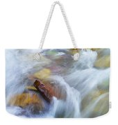 The Beauty Of Silky Water Weekender Tote Bag