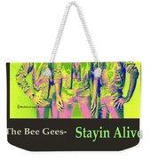 The Bee Gees  Weekender Tote Bag