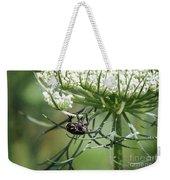 The Beetle Acrobat Weekender Tote Bag