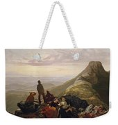 The Belated Party On Mansfield Mountain Weekender Tote Bag