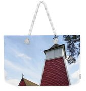 The Bellfry And The Church Of Kustavi Weekender Tote Bag