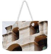 The Bells Of Mission San Gabriel Arcangel Portrait Weekender Tote Bag