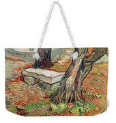 The Bench At Saint Remy Weekender Tote Bag
