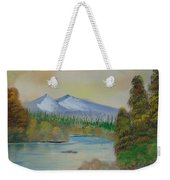The Bend In The River Weekender Tote Bag