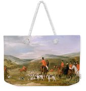 The Berkeley Hunt Weekender Tote Bag by Francis Calcraft Turner