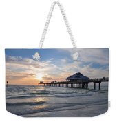 The Best Sunsets At Pier 60 Weekender Tote Bag