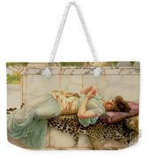 The Betrothed Weekender Tote Bag by John William Godward