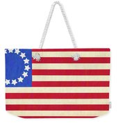 The Betsy Ross Flag Weekender Tote Bag