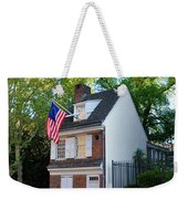 The Betsy Ross House Philadelphia Weekender Tote Bag by Bill Cannon