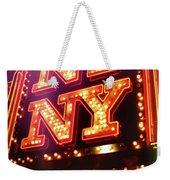 The Big Apple Weekender Tote Bag