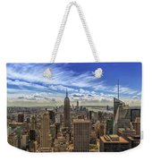 The Big Apple Weekender Tote Bag