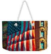 The Big Big Flag Weekender Tote Bag