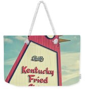 The Big Chicken Weekender Tote Bag