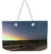 The Big Dipper Over The Lights Of Provincetown Ma Weekender Tote Bag
