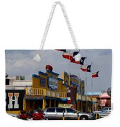 The Big Texan In Amarillo Weekender Tote Bag