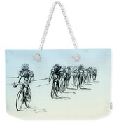 The Bike Race Weekender Tote Bag