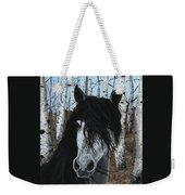 The Birch Horse Weekender Tote Bag