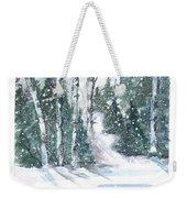 The Birch Trees Weekender Tote Bag