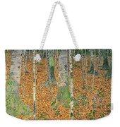 The Birch Wood Weekender Tote Bag