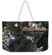The Bird Bath Weekender Tote Bag