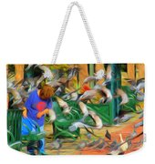 The Bird Feeder Weekender Tote Bag