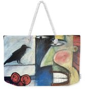 The Bird Watcher Weekender Tote Bag