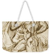 The Birth Of Bacchus From Jupiter's Thigh Weekender Tote Bag