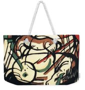 The Birth Of The Horse 1913 Weekender Tote Bag