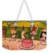 The Birthday Party Weekender Tote Bag