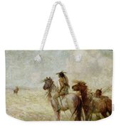The Bison Hunters Weekender Tote Bag
