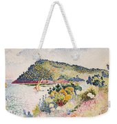 The Black Cape Pramousquier Bay Weekender Tote Bag