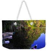 The Black Lagoon Weekender Tote Bag
