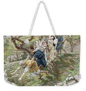 The Blind Leading The Blind Weekender Tote Bag by Tissot