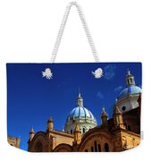 The Blue Domes Of Cuenca, Ecuador Weekender Tote Bag